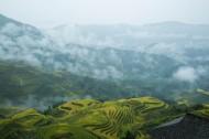 广西桂林龙脊梯田风景图片_6张