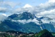 瑞士图恩湖风景图片_20张