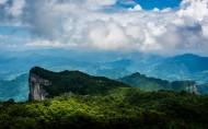 湖南張家界天門山風景圖片_12張