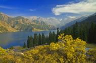新疆天山天池风景图片_15张