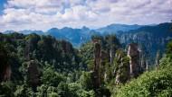 湖南張家界天子山風景圖片_18張