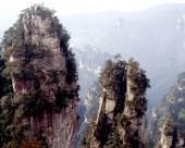 湖南张家界天子山风景图片_18张