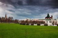 奧地利首都維也納秋天風景圖片_8張