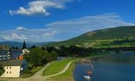 挪威沃斯小城风景图片_14张