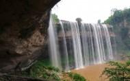重慶萬州大瀑布風景圖片_13張