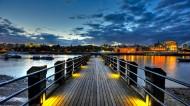 唯美的码头风景图片_13张