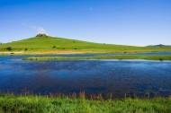 乌兰木统的湖泊图片_24张
