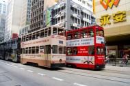 香港电车图片_15张