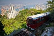 香港太平山缆车图片_6张