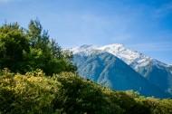 新西兰雪山风景图片_9张