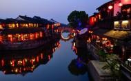 西塘夜景图片_13张
