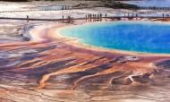 美国黄石国家公园地热风景图片_20张
