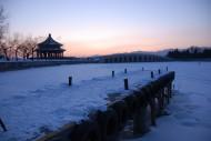 北京颐和园雪景图片_17张