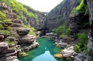 河南云台山红石峡风景图片_7张
