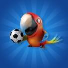 可爱的3D鹦鹉图片_11张