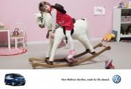 大眾車廣告創意海報圖片_7張