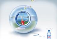 礦泉水廣告創意圖片_2張