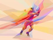 炫彩网球运动电脑设计图片_11张