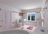 粉色系卫生间设计图片_2张
