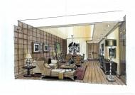廣州愛丁堡國際公寓室內手繪稿圖片_23張