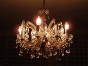客厅水晶灯具图片_28张