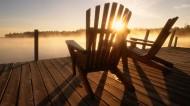 休閑的木椅圖片_16張
