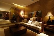 平顶山东南亚风格样板间室内设计图片_12张
