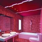 热情红色系卫生间设计图片_7张