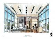 廣州中海珠江新城K2室內手繪圖片_15張