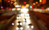 迷離的城市燈光和璀璨的城市夜景圖片_22張