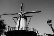 荷蘭風車圖片_12張