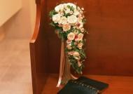 婚禮玫瑰插花圖片_8張