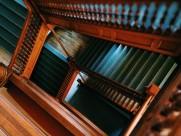 各种各样的楼梯图片_19张