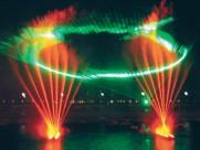 五光十色人工噴泉圖片_31張