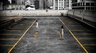 空曠的停車場圖片_14張