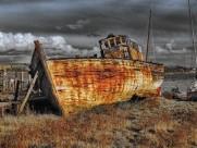 船的残骸图片_15张