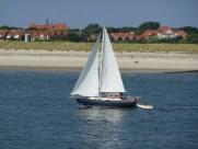 航行的帆船图片_14张