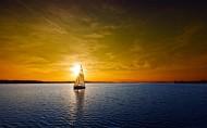 美麗景致的帆船圖片_19張