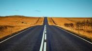 平坦的公路图片_13张