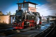 古老的蒸汽火车图片_7张