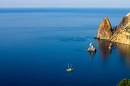 海中的帆船图片_16张