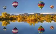 唯美热气球图片_18张