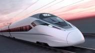 高速行驶的火车、动车、高铁图片_10张