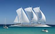 現代機械帆船圖片_7張