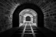 幽暗的隧道图片_14张