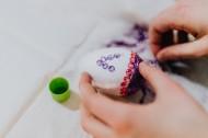 復活節彩蛋的裝飾過程圖片_10張
