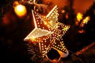 漂亮的圣诞节装饰星星图片_13张