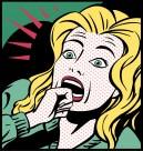 卡通插畫女性表情矢量圖片_22張