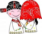 中式婚礼卡通图片_50张