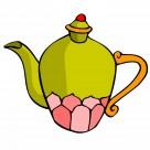 古典茶壺卡通圖片_76張